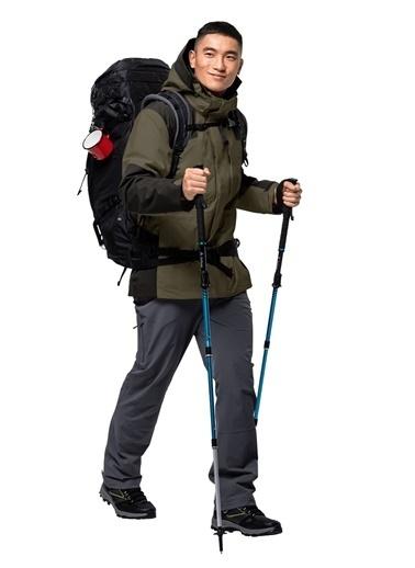 Jack Wolfskin Jack Wolfskin 1108392-4690 Erkek Mont Yeşil